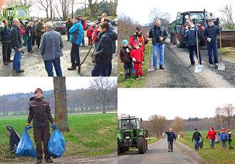 Dorf&Feldpflege am 28. März 2015