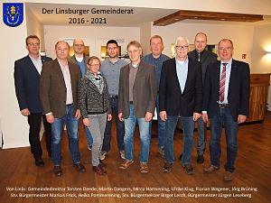 Der Linsburger Gemeinderat 2016-2021