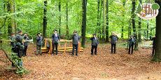 Die Linsburger Jagdhornbläsergruppe