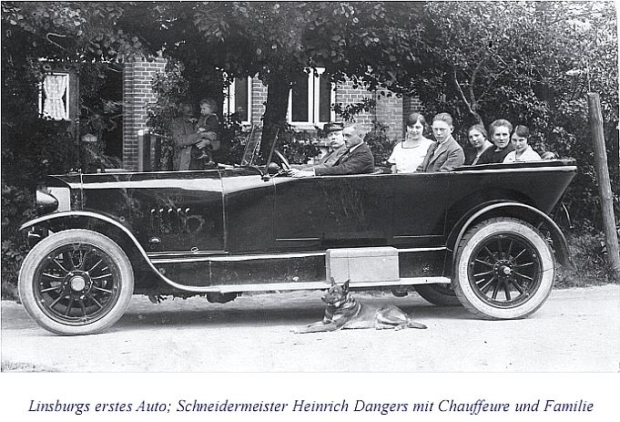 Linsburgs erstes Auto