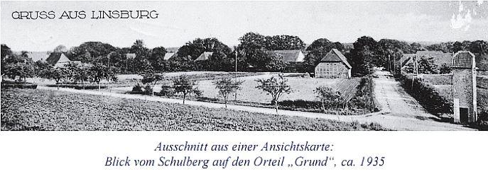 "Postkarte ""Gruss aus Linsburg"""