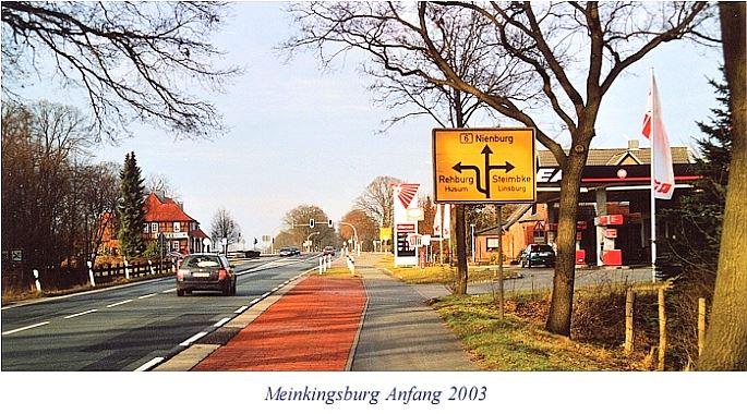 B6 in Meinkingsburg Anfang 2003