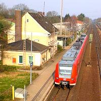 Linsburger S-Bahnhof