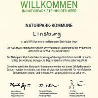 Urkunde Naturpark-Kommune